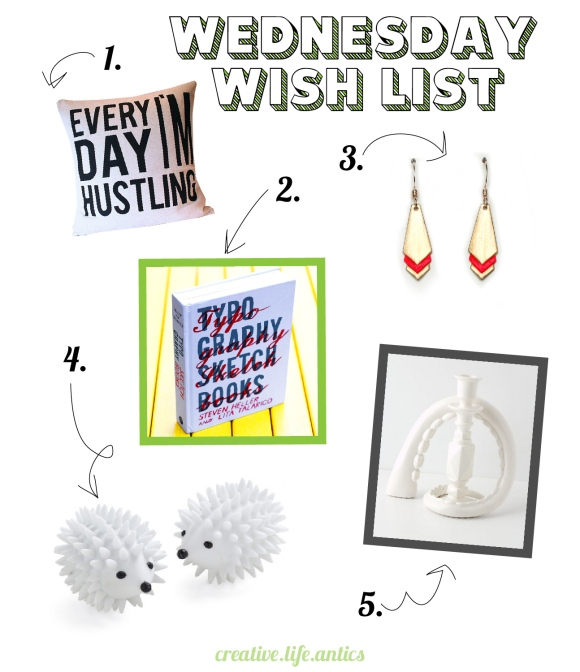 04-17-13 Wednesday Wishlist