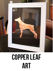 COPPER LEAF ART-01