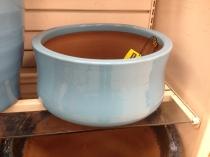 Short wide pot that is a unique shape!