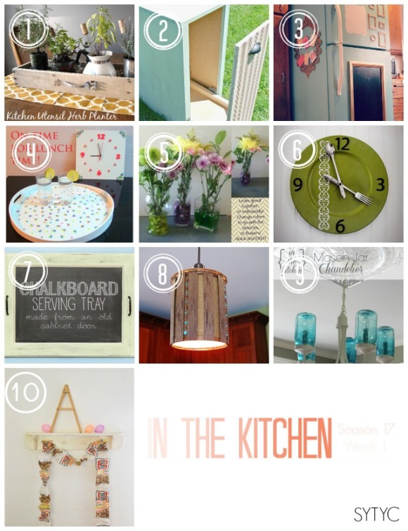 In the Kitchen Collage